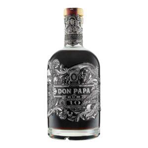 Don Papa 10 Rum bottle