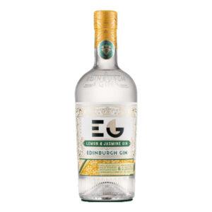 Edinburgh Lemon & Jasmine gin bottle