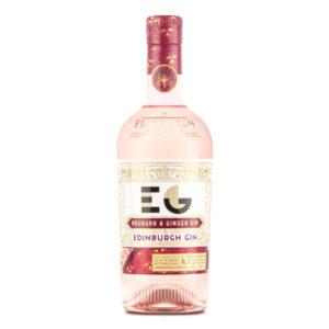 Edinburgh Rhubarb & Ginger gin bottle