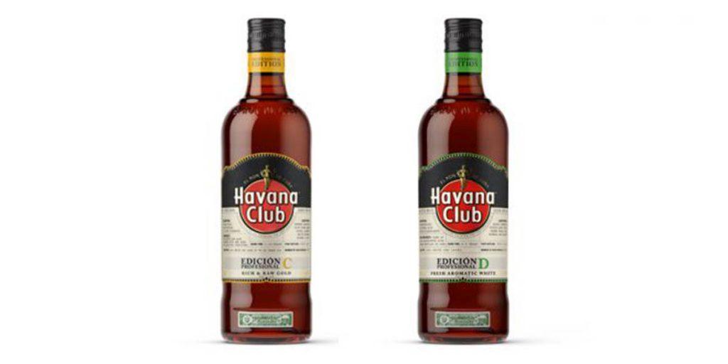 Havana Professional C & D bottles