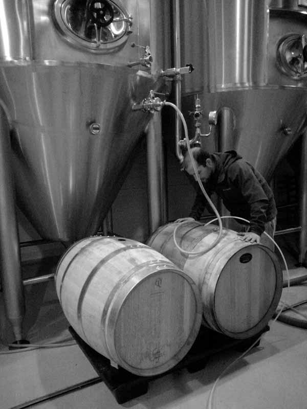 septem microbrewery barrels