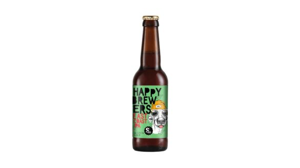 happy brewers east coast IPA bottle