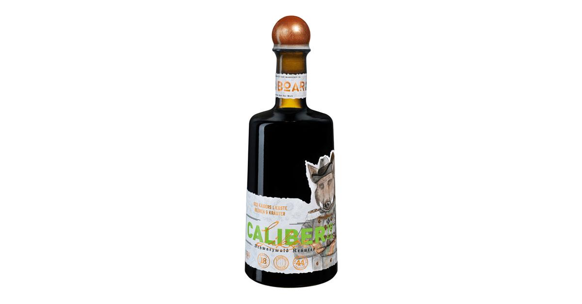 boar caliber 1844 bottle
