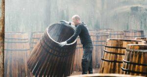 barrels at Glengoyne